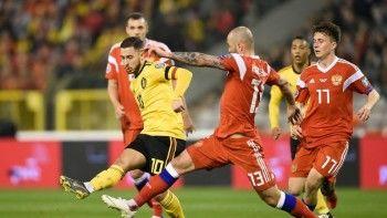 Россия проиграла Бельгии впервом матче квалификации наЕвро-2020