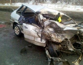 В аварии на Челябинском тракте пострадали пять человек (ВИДЕО)