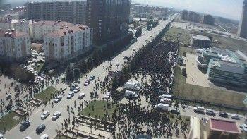 Жители Ингушетии вышли на митинг против изменения закона о референдуме