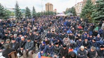 Протестующие вИнгушетии потребовали отставки главы республики