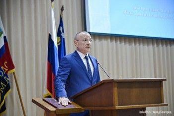 Глава администрации Белгорода вышел принимать присягу под марш из«Звёздных войн» (ВИДЕО)