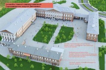 Проект масштабной реконструкции главного здания музея-заповедника сделает компания из Казани