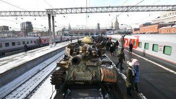 В Екатеринбург привезли выставку с трофеями из Сирии (ВИДЕО)