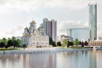 Землю под храм Святой Екатерины сдали в аренду компании Козицына и Алтушкина