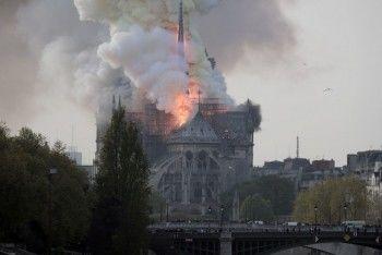 Минкульт предложил организовать сбор пожертвований на восстановление собора Парижской Богоматери