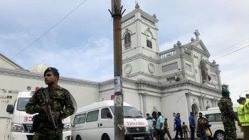 На Шри-Ланке во время богослужений прогремело шесть взрывов. СМИ сообщают о более 160 погибших