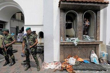 На автобусной остановке в столице Шри-Ланки нашли почти 90 детонаторов