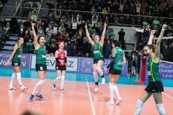 «Уралочка-НТМК» победила казанское «Динамо» в первом матче серии за бронзу