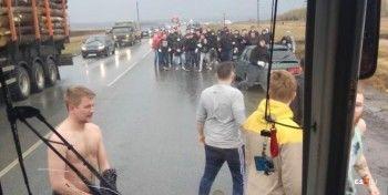 Под Уфой толпа футбольных фанатов из Перми напала на болельщиков «Урала»