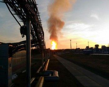 На севере Свердловской области загорелся магистральный газопровод «Газпрома»