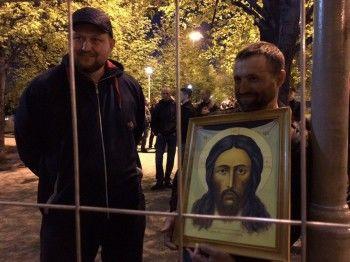 РПЦ перенесла молебен всквере уТеатра драмы