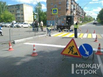 Дорожные службы Нижнего Тагила обновят дорожную разметку, установят новые светофоры и ограждения в рамках БКАД