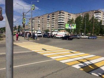 В результате аварии на Вагонке два человека получили множественные травмы