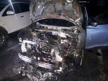 Ночью в Нижнем Тагиле сожгли три иномарки