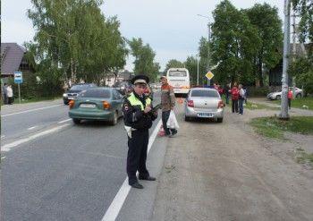 Под Нижним Тагилом автобус сбил пешехода