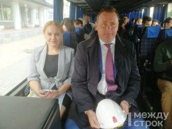 В Нижний Тагил прибыл десант уральских журналистов. Пинаев презентовал им главные проекты к 300-летию города