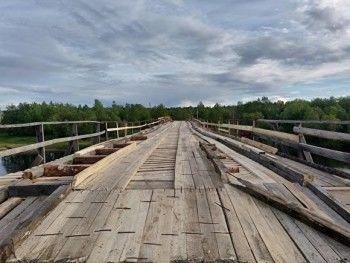 В Серове жителисамостоятельно отремонтировали мост