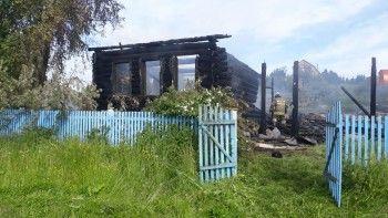 Под Нижним Тагилом в пожаре погиб пенсионер