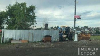 В Верхней Салде в спешном порядке ликвидируют мусорную площадку, на которую пожаловались Владимиру Путину