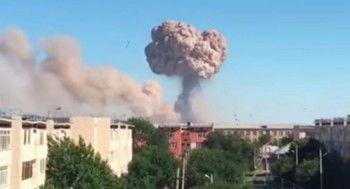 В Казахстане объявили режим ЧС из-за взрыва в воинской части города Арысь (ВИДЕО)