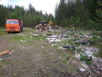 15 свалок под Нижним Тагилом ликвидировали специалисты управляющей компании туркластера «Гора Белая»