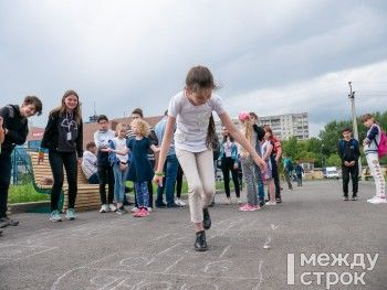 В Нижнем Тагиле прошёл первый фестиваль дворовых игр (ФОТО)