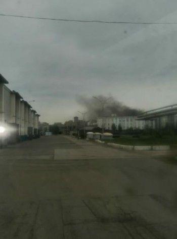 В Нижнем Тагиле горит один из цехов УВЗ