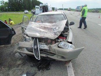 В ДТП наТюменском тракте пострадали пять человек