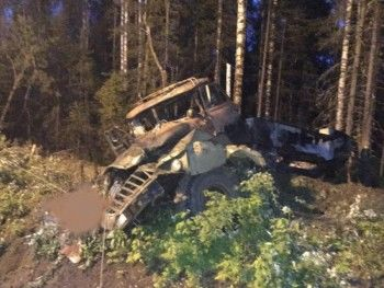 Полиция опознала третьего погибшего при взрыве бензовоза под Карпинском