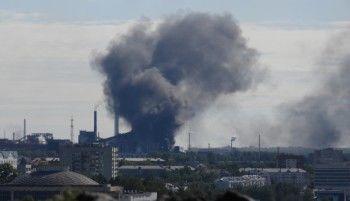В Нижнем Тагиле на ЕВРАЗ НТМК произошёл пожар (ВИДЕО)