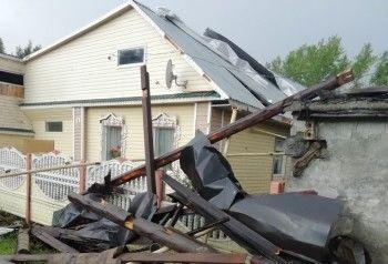 ВКушве устраняют последствия урагана, оставившего без света более 200 домов (ФОТО)