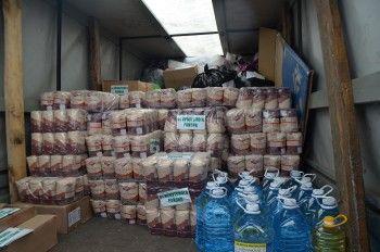 Жители Свердловской области отправили в Иркутск почти тонну гуманитарной помощи пострадавшим от наводнения