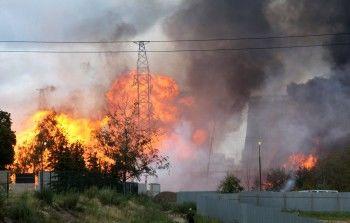 При пожаре наТЭЦ вМытищах погиб один человек