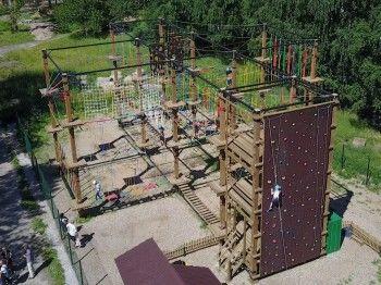 Экстремальный верёвочный аттракцион в парке «Народный» построят к Дню города