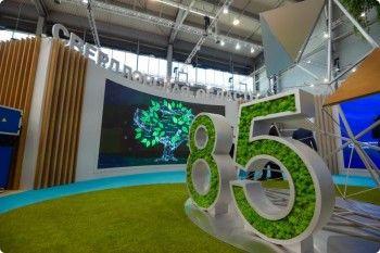 Стенд Свердловской области во время работы ИННОПРОМа посетили более 43 тысяч человек