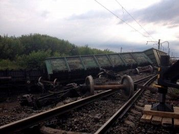 По миллиону за вагон. ЕВРАЗ оценил убытки после схода с рельсов железнодорожного состава в Нижнем Тагиле