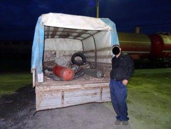 В Нижнем Тагиле трое свердловчан похитили рельсы на станции Смычка
