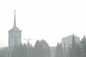 Екатеринбург иСвердловскую область накрыл смог сзапахом гари