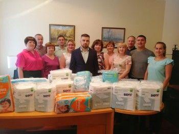 Команда «Демидовских пивоварен» присоединилась к «Доброму челленджу» АН «Между строк» для помощи тяжелобольным детям