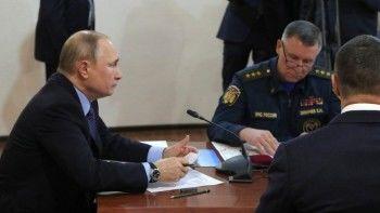 Путин распорядился привлечь Минобороны ктушению пожаров вСибири инаДальнем Востоке
