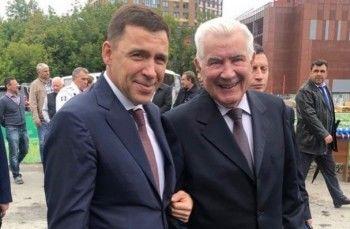 Куйвашев и Карполь заложили первый камень «Академии волейбола Николая Карполя»