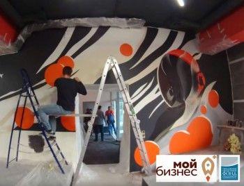 В Нижнем Тагиле в преддверии Дня города и открытия центра «Мой бизнес» создали новый арт-объект (ВИДЕО)