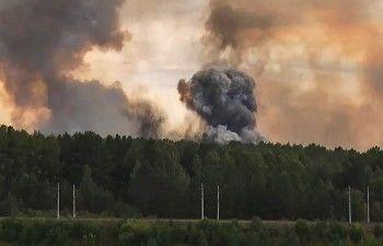 В Минобороны назвали причиной взрывов под Ачинском человеческий фактор