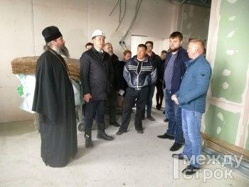 Мэр Нижнего Тагила Владислав Пинаев отчитал чиновников за срыв работ по строительству «губернаторского» спортзала для православной гимназии