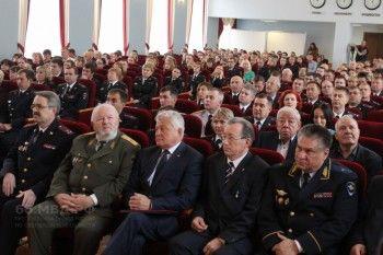 Свердловский главк МВД отметил вековой юбилей