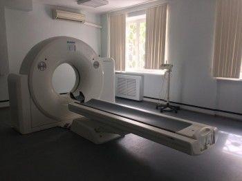 В Демидовской городской больнице открыли кабинет компьютерной томографии с современным оборудованием