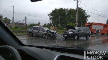 В ДТП на улице Бригадной пострадали несколько человек