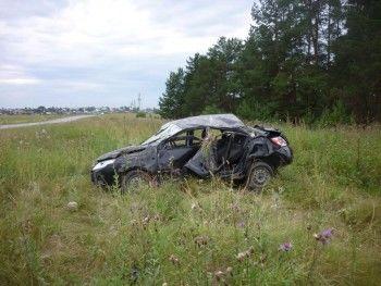 В аварии на трассе под Ирбитом погиб водитель