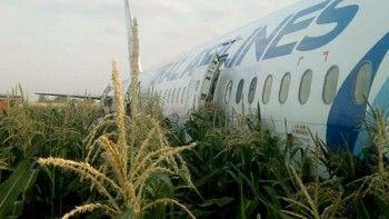 Всем пассажирам аварийно севшего борта «Уральских авиалиний» выплатят по 100 тысяч рублей