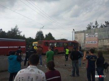 Восемь пострадавших в ДТП с автобусом в Перми находятся в тяжёлом состоянии